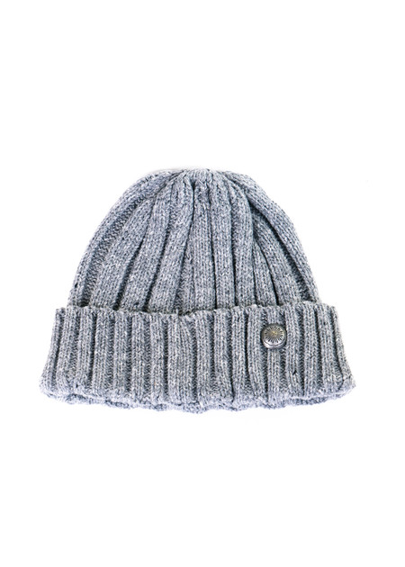 3Sixteen Watch Cap - Grey Cable Knit