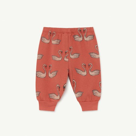 Kids The Animals Observatory Dromedary Baby Jogger Pant - Red Swan