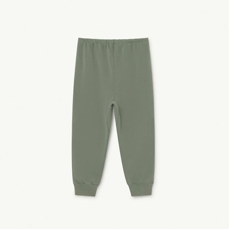 Kids The Animals Observatory Panther Jogger Pant - Soft Green