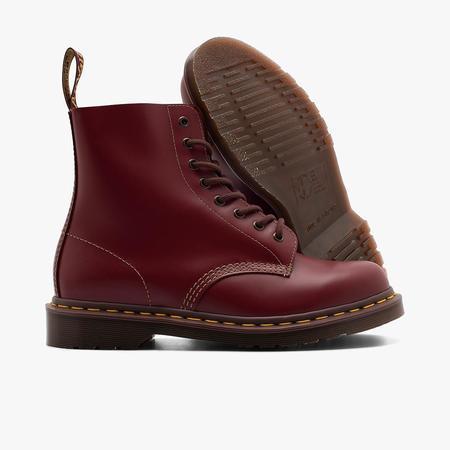Vintage Dr. Martens 1460 Oxblood Quilon Shoes