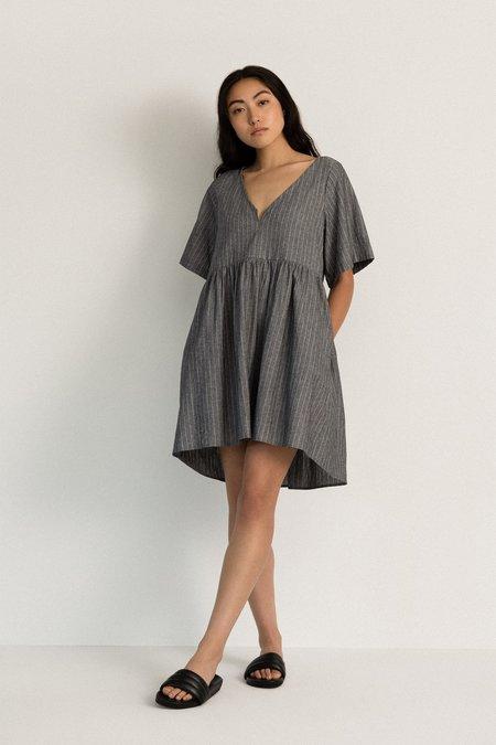Neranese Breeze Dress - Black Chambray