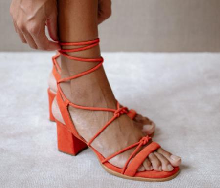 Alohas Sopie Sandal - ORANGE