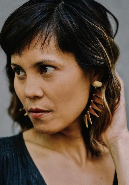 Carolyn Keys Maxima Punk Earring - Brass