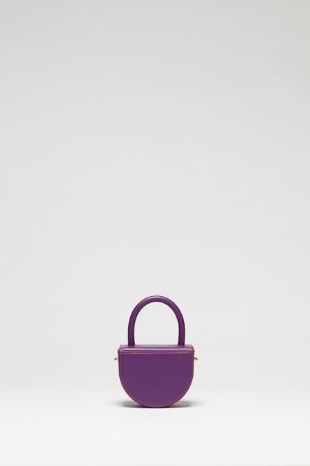 Audette Mini Buit Bag - Smooth Purple