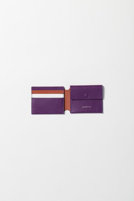 Unisex Audette Wallet - Purple