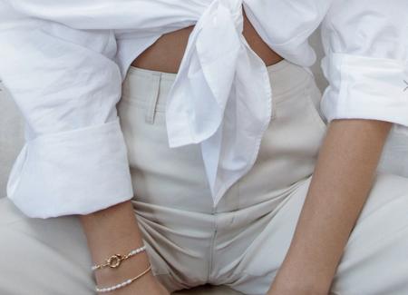 Arms Of Eve Jacinta Bracelet - Pearl