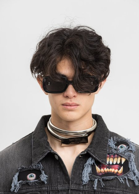 Doublet Square Flame Sunglasses - Grey