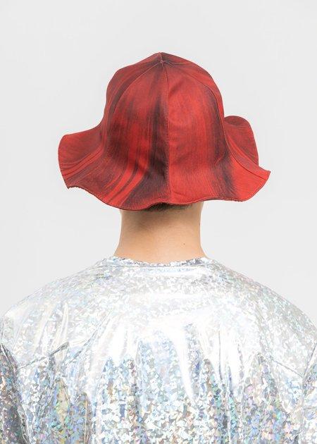 Doublet Turip Printed Turip Hat - Red