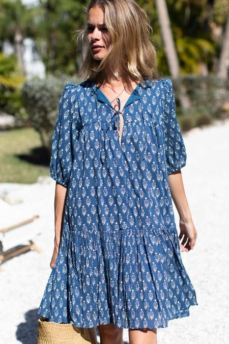 Emerson Fry Puff Isla Dress - Marguerite Blue