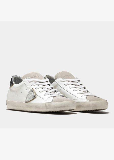 Philippe Model Paris Sneaker - Silver