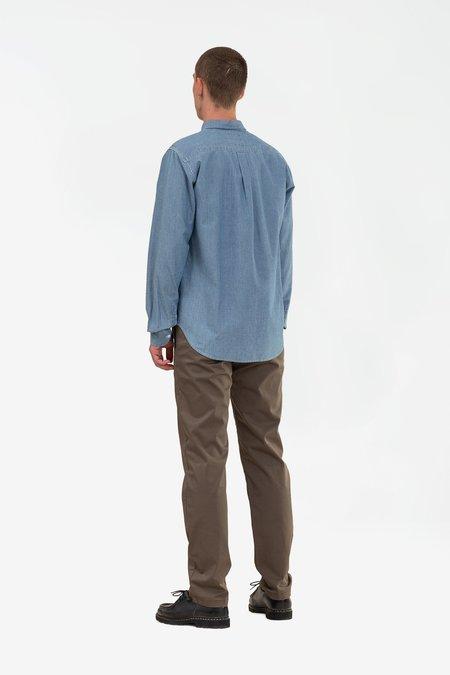 Norse Projects Osvald shirt - chambray indigo
