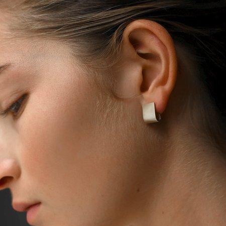 8.6.4 Scoop Earrings - Sterling Silver