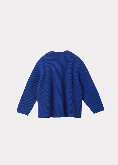 kids Caramel Elford Jumper sweater - Azure Blue