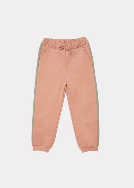 kids Caramel Horus Trousers - Rosewood