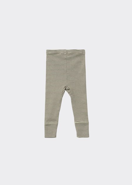 kids Caramel Judd Baby Legging - Lemon Chocolate Stripe