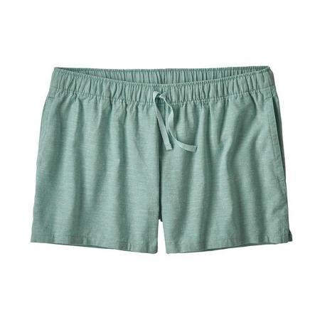 "Patagonia Island 3"" Hemp Baggies Shorts - Cross Weave/Atoll Blue"
