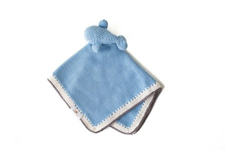 CouCou Baby Basket w/ Small Essentials for Boy