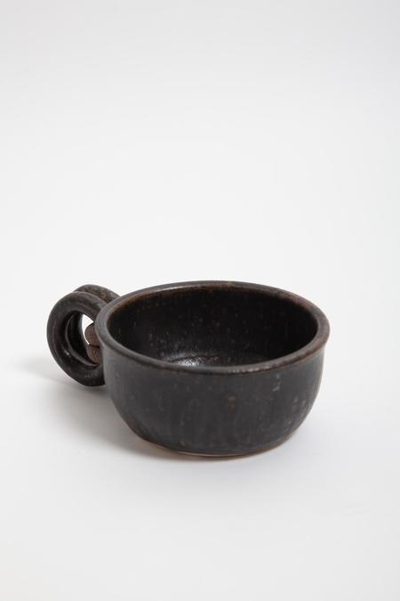 Gravel & Gold Cappuccino Mug - Black Ash