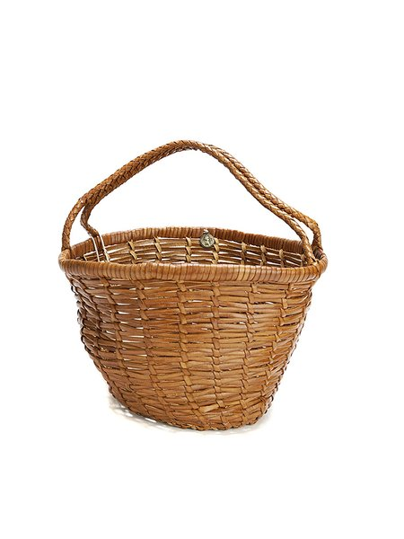 Dragon JANE BIRKIN  basket bag - TAN