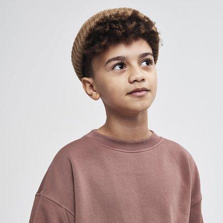 kids unisex Main Story Oversized Sweatshirt - Cognac