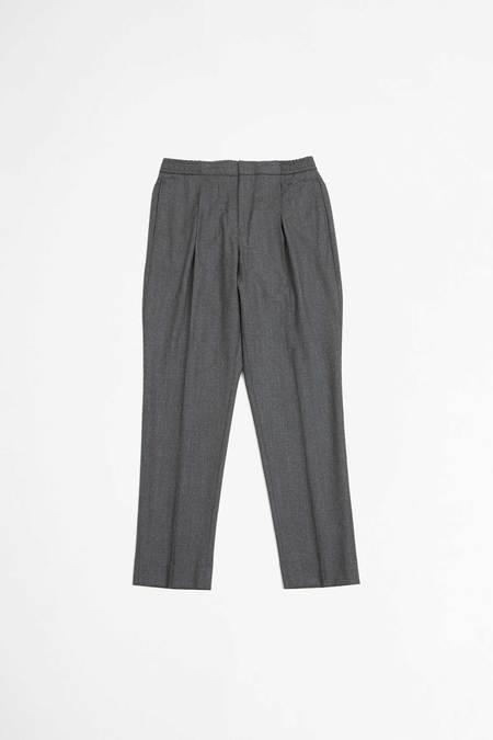 Officine Generale Drew Pants - Mid Grey