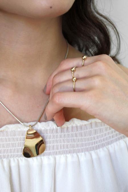 Young Frankk Mini Trine Necklace