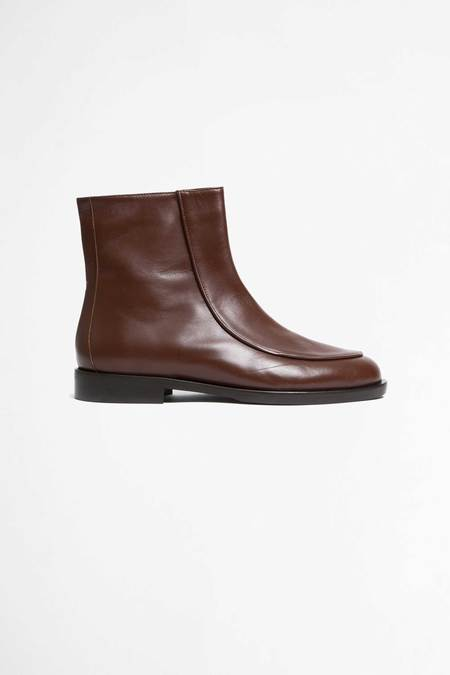 Jacques Soloviere Zip boots Pierrot leather calf boots - dark brown