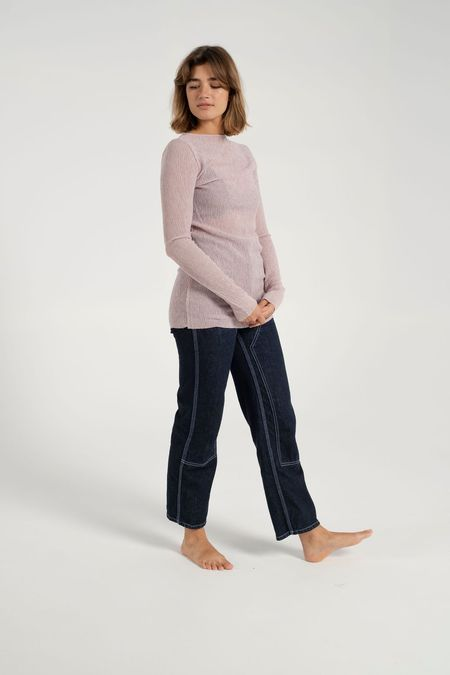 Nomia Knit Top - Rose