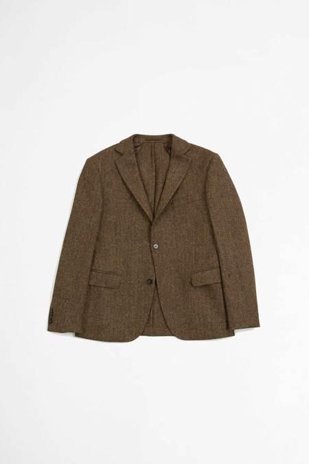 Officine Generale Jacket - Herringbone Camel/Brown