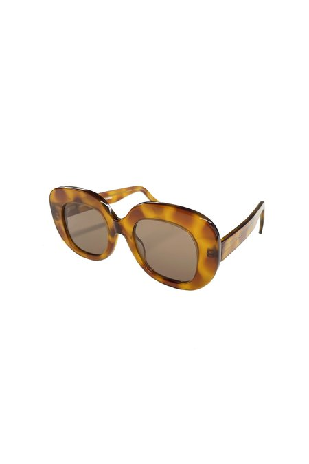 Anna Sui Fellow Earthlings Sunglasses - Amber