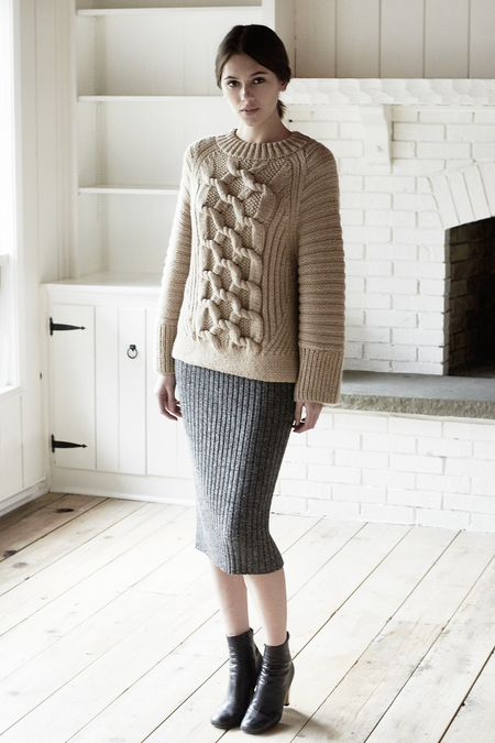 ELEVEN SIX ALAINA SWEATER SKIRT