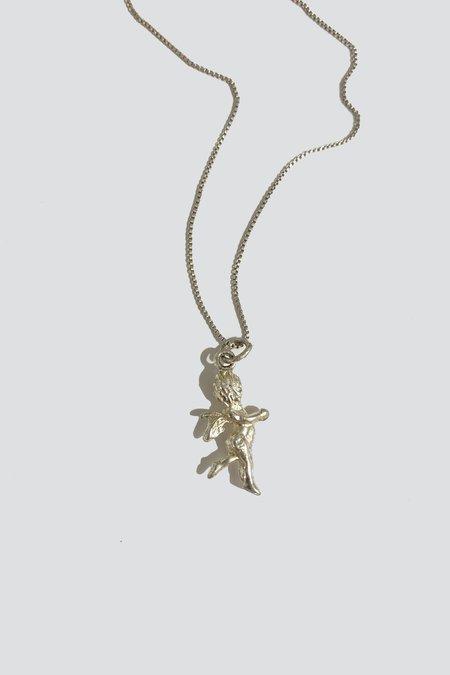 Vintage Cherub Chain - Sterling Silver
