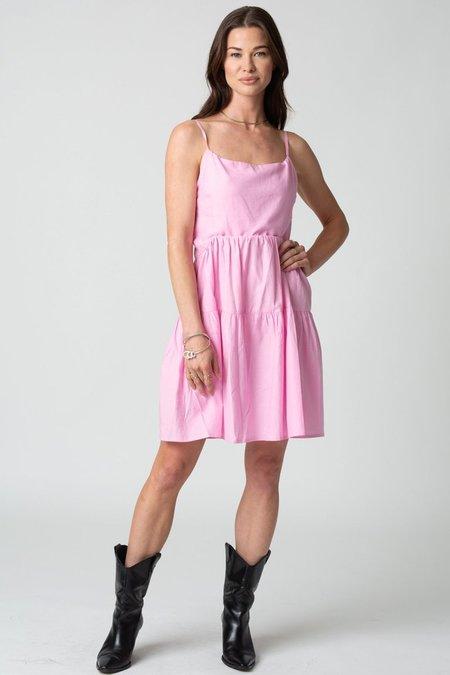 Stillwater Memz Mini Dress - Bubblegum