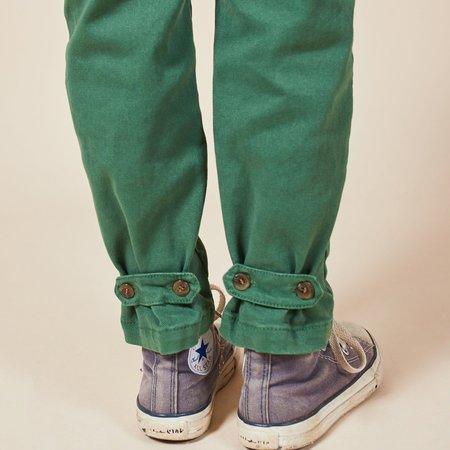 Kids Bobo Choses Boy Patch Braces Pants - Green