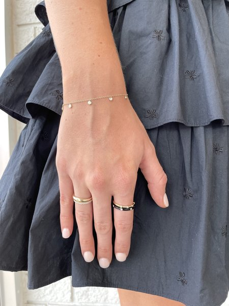 EF Collection Dome Ring - 14k solid gold