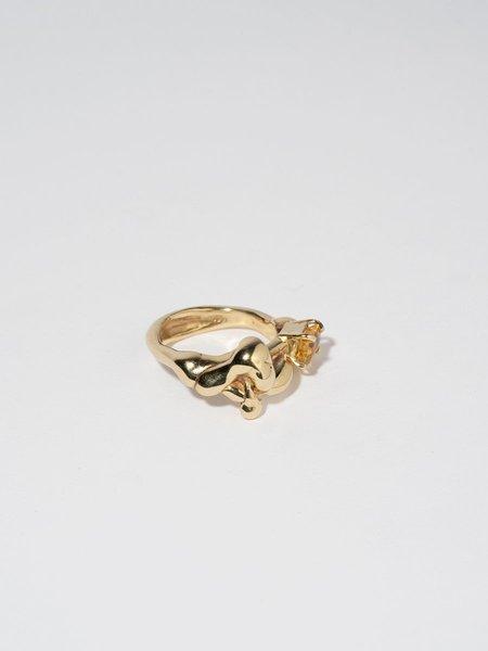 FARIS Lava Gem Ring - Bronze