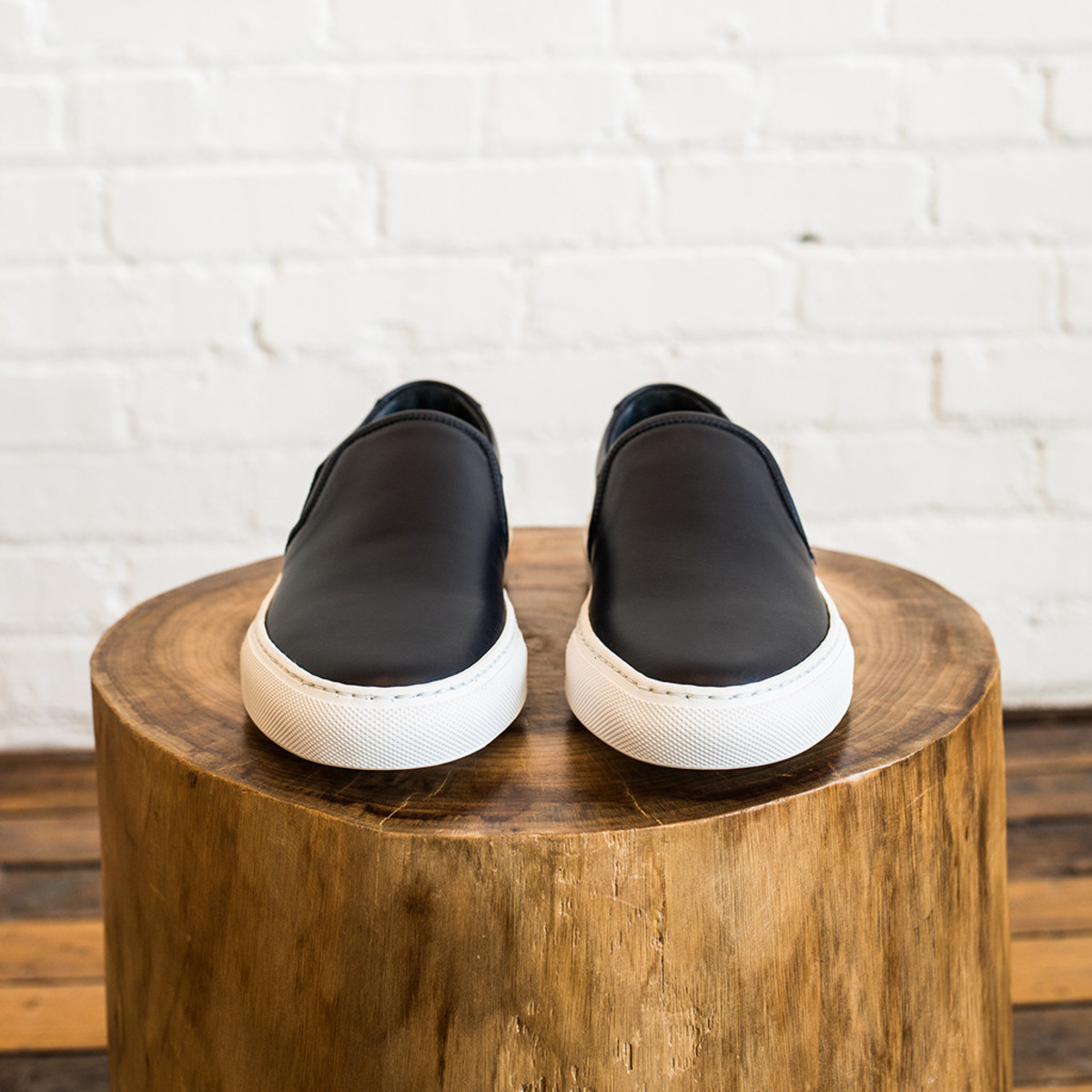 woman by common projects common projects slip on in leather garmentory. Black Bedroom Furniture Sets. Home Design Ideas