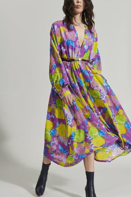 Rachel Comey Bridge Dress - Magenta Multi