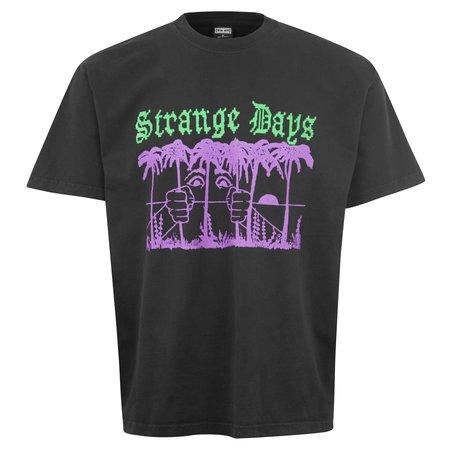 Obey Strange Days T-Shirt - Black