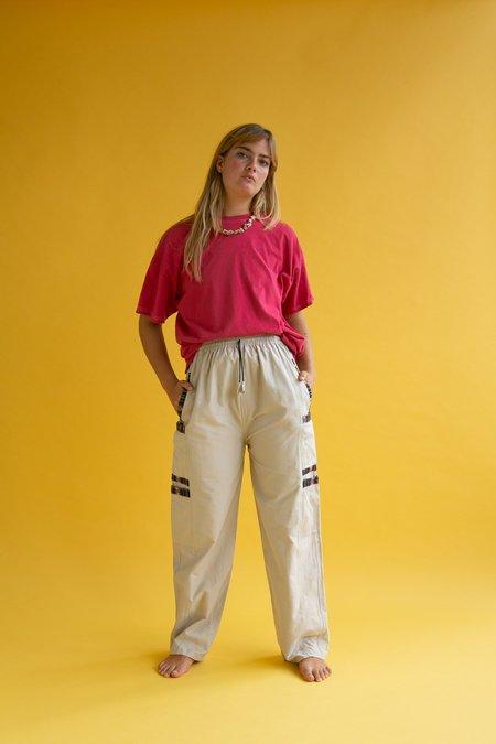 Vintage 1990s Trek Pants - Beige