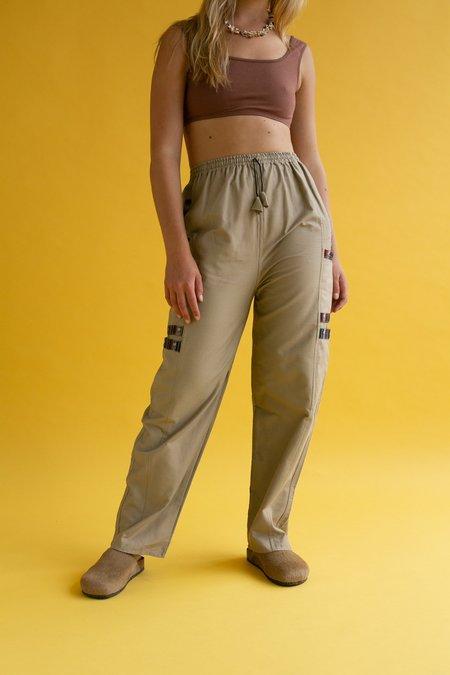 Vintage 1990s Trek Pants - Khaki