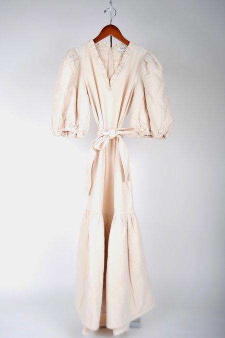 Sea NY Layla Quilted Midi Dress - Barley