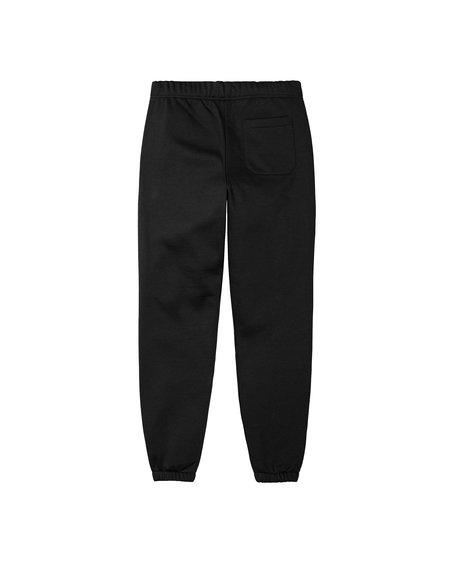 CARHARTT WIP Pantalón Chase Sweat - Black/Gold
