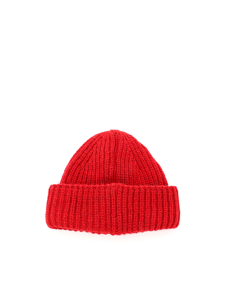 GCDS Giuly Beanie Hat - Red