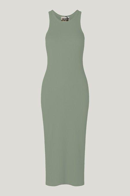 Just Female Rancho Tank Dress - Seaspray