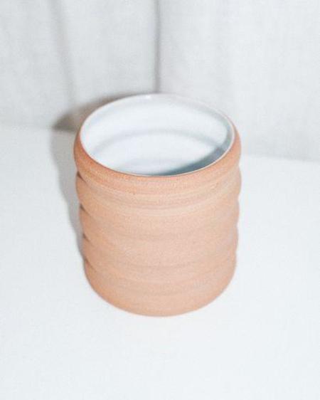 Umlaut Ceramics Groovy Wavy Terracotta Cup