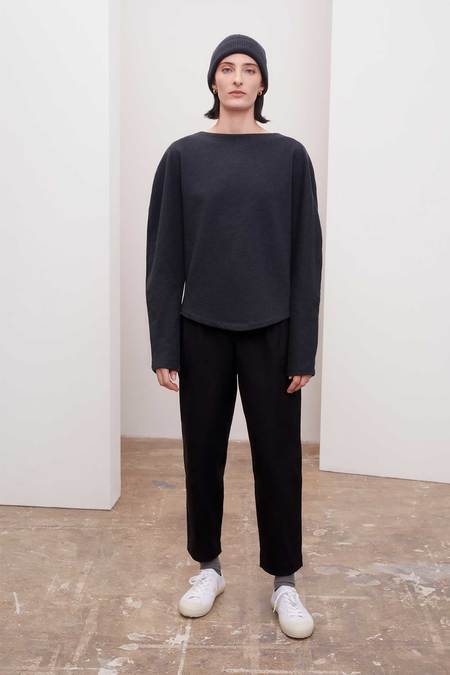 Kowtow Calder Sweater - Charcoal Marle
