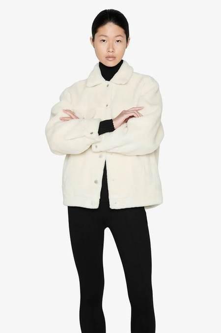 Anine Bing Rory Jacket - Cream