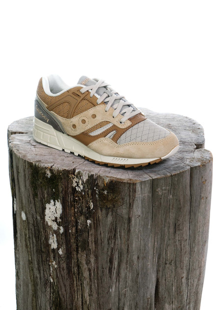 Saucony GRID SD Quilted (Tan)