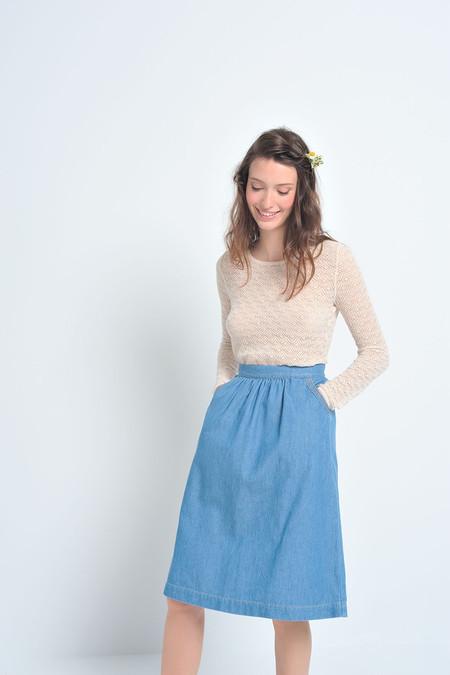 Des Petits Hauts Leandre Denim Skirt